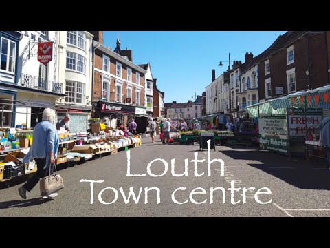 A walk around Louth Lincolnshire market town centre 2019 see what it's like