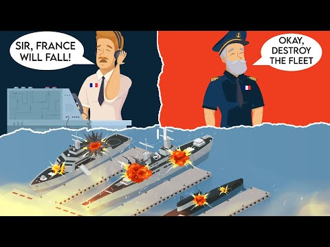 How the Heroic Effort of the French to Destroy their Own Fleet Saved the Allies MAJOR Headaches