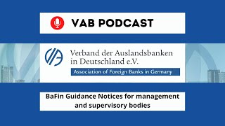 Bafin guidance notices for management and supervisory bodies