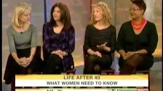 More Magazine: Genevieve Monsma, Life After 40 on NBC Today 1/15/11