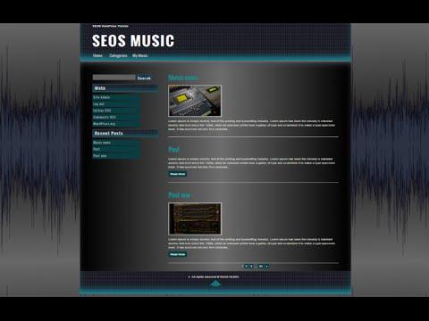 Seos Music WordPress Theme