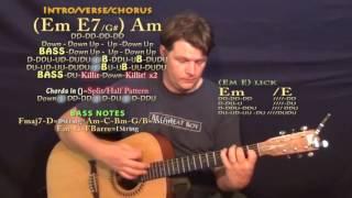 wishing dj drama guitar lesson chord chart in standard tuning
