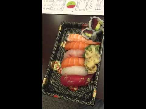 Worm in sushi