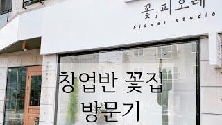 창업반꽃집방문브이로그(꽃,피오레)