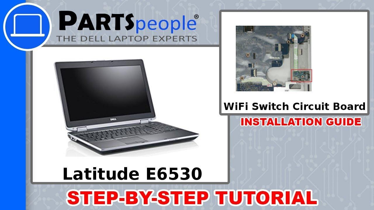 Dell Latitude E6530 P19f001 Wifi Circuit Board How To Video Tutorial