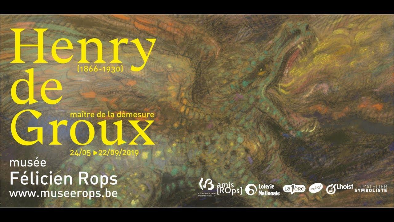"""Résultat de recherche d'images pour """"""""Henry De Groux, Maïtre de la Démesure"""""""""""
