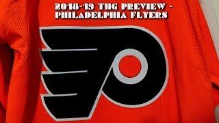 2018-19 Philadelphia Flyers Season Preview
