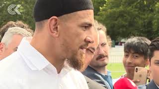 Sonny Bill Williams 'Thank you from my heart'