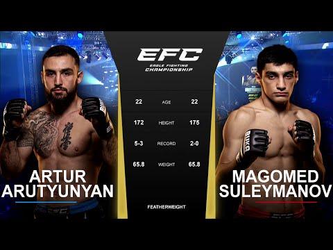 Оставили все силы в клетке | EFC 42: Артур Арутюнян vs Магомед Сулейманов