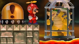 New Super Mario Bros. Wii - Mario wants to rescue Bowser