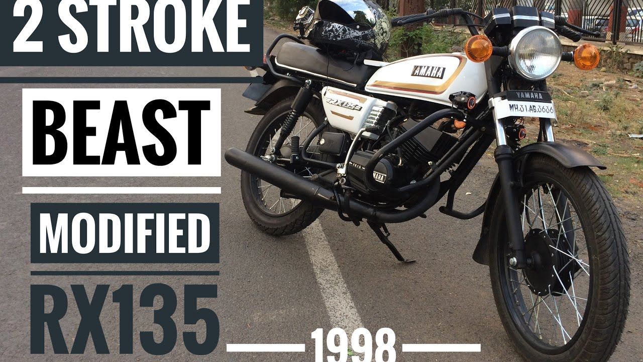 Modified Yamaha RX135 | 2 Stroke Beast | Daily Observation 3 | Moto Treble |