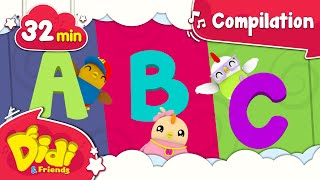 ABCs Song For Children | +More Nursery Rhymes & Kids Songs | Didi & Friends English 32min
