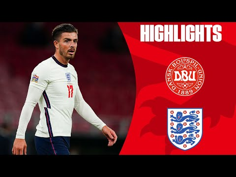 Denmark 0-0 England | Three Lions Held to a Draw by Tough Denmark | Official Highlights