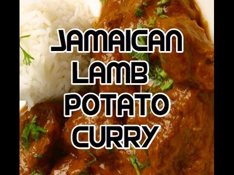 Jamaican Lamb Potato Curry Recipe - Goat Curry - Jamaican Recipes - West Indian Food