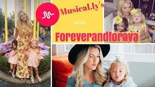 Musically's with Foreverandforava a.k.a. my niece Everleigh Soutas and her bestie Ava Foley