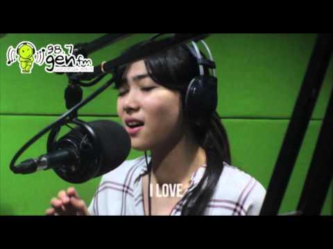 """KAU ADALAH"" - Isyana Sarasvati Feat. Rayi (RAN) LIVE - Lyrics"