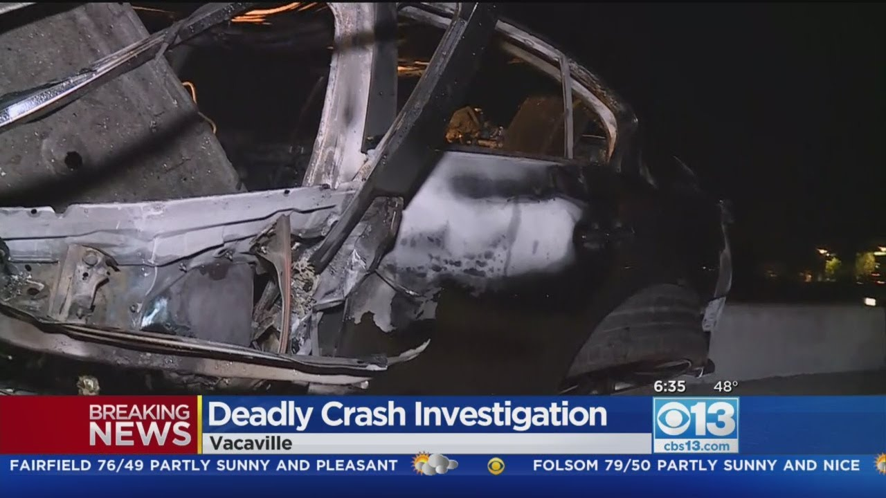 1 Dead After Fiery Crash In Vacaville