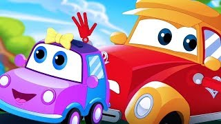 Nursery Rhymes & Songs | Car Cartoons Vehicles Videos for Kids