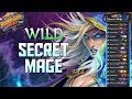 Best Wild Secret Mage Deck | Boomsday Project | Hearthstone