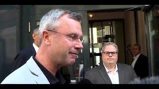 Norbert Hofer über Zukunft der FPÖ