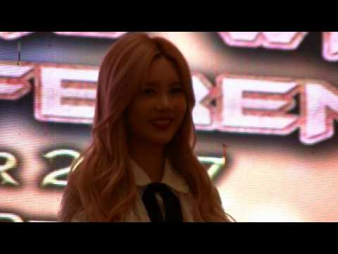 Qri (T-ara) Press Conf (B Cam), Part 2/2, 2 Sep 2017