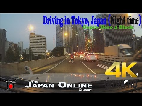 Tokyo Drive on the Highway: Part 2 (Night Time) - 4K Japan (Ultra HD)
