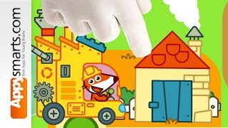 Pango Fox Factory - puzzle game for kids demo [iPad/iPhone/Android]
