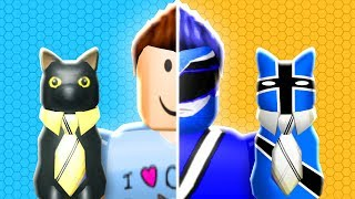 BECOMING A POWER RANGER IN ROBLOX