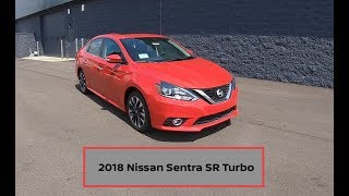 2018 Nissan Sentra SR Turbo|Walk Around Video|In Depth Review
