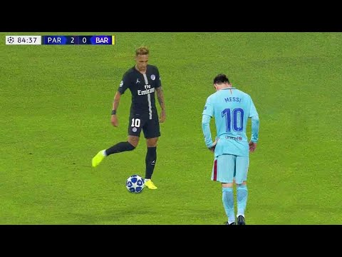 Momen Epik Neymar Jr Yang Menghancurkan Pemain Terkenal