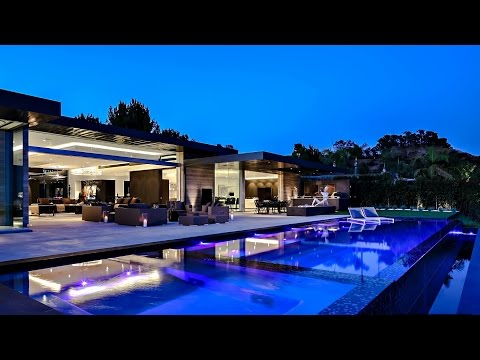 Breathtaking Panoramic Views Contemporary Luxury Residence in Beverly Hills, CA, USA