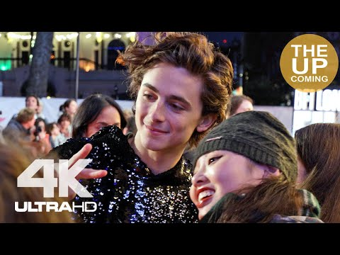 Timothee Chalamet Arrival And Fans Interaction At The King Premiere London Film Festival