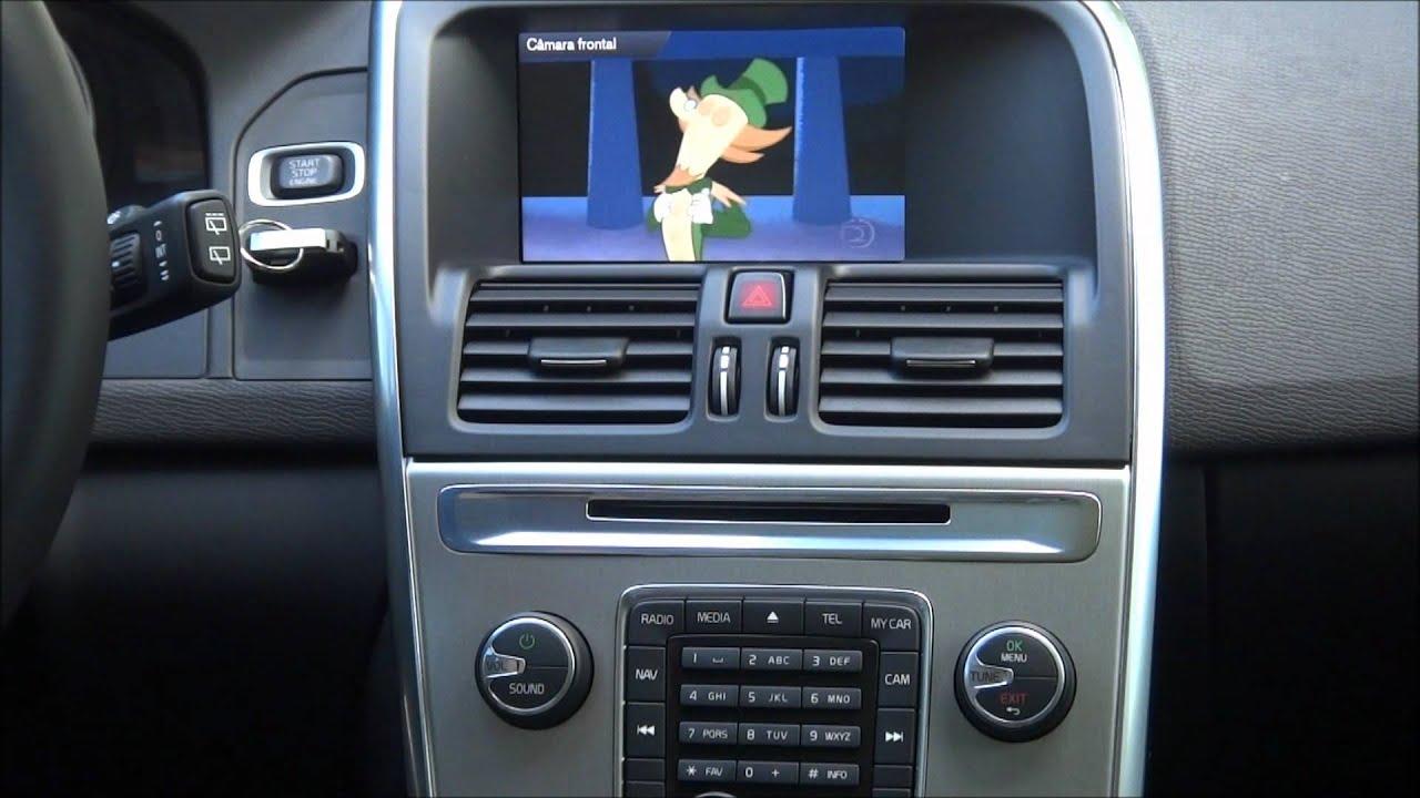 Desbloqueio de tela Faaftech para Volvo XC60 T6 DVD e TV Digital - YouTube