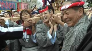 平成21年 8月4日 千葉県匝瑳市 八日市場 八重垣神社祇園祭 女神輿.