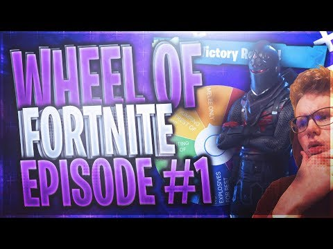 OH MY GOD I WAS SO CLOSE!! WHEEL OF FORTNITE! EP. #1