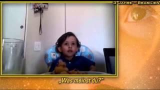 Junge erklärt, warum er keine Tiere essen will