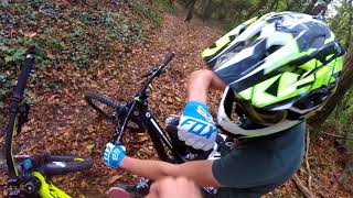 BIG CRASH// POMPIER SAMU//FRACTURE/ROSIERE TRAIL
