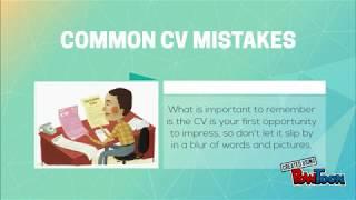 Top 5 CV Mistakes