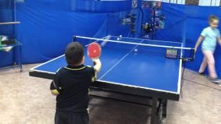 Настольный теннис Новороссийск Никита 5 лет