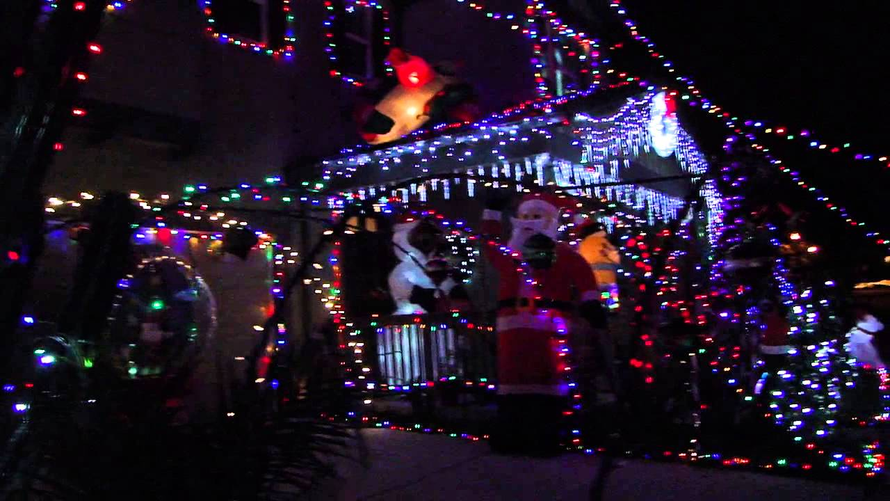 Christmas Lights In Chino 2012 , The Preserve, V1 - YouTube