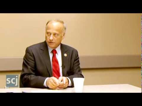 Steve King with Sioux City Journal Editorial Board