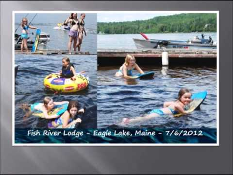 A Northern Maine Summer Vacation 2012 Video