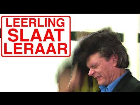 LEERLING SLAAT LERAAR!
