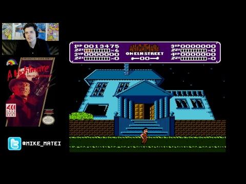 A Nightmare on Elm Street (NES) - Cinemassacre Plays