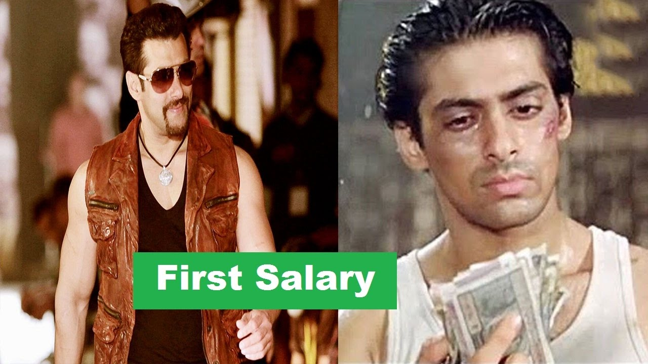Do You Know Salman Khan First Salary Don T Believe Youtube