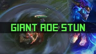 Aurelion Sol GIANT AoE stun | League of Legends