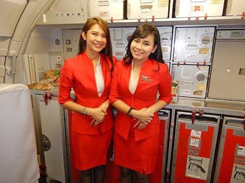 Flying Air Asia Jakarta To Bangkok 2018