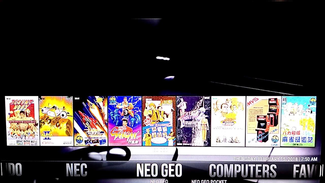 Retro gaming build libreelec