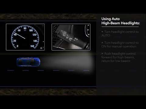 Honda Accord Sensing >> How to Use Auto High-Beam Headlights in the 2018 Honda Accord - YouTube