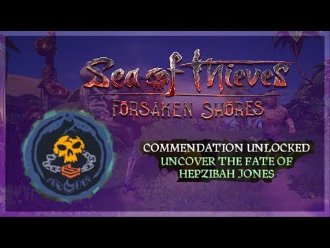Sea Of Thieves Uncover The Fate Of Hepzibah Jones